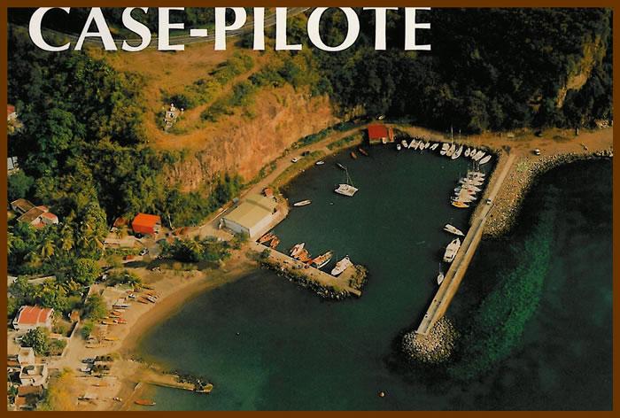 vue ancienne de case pilote