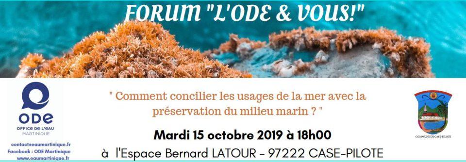 Bannière WEB - Forum ODE & Vous 15102019